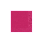 "Raspberry Beverage Napkin - 5"" x 5"" Unprinted 50 or 100/pack"