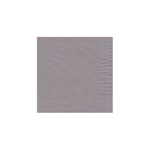 "Silver Beverage Napkin - 5"" x 5"" Unprinted 50 or 100/pack"