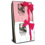 Personalized Photo Beverage Napkin Hostess Gift Sets