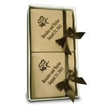 Personalized Recycled Beverage Napkin Hostess Gift Sets