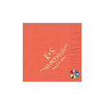 Wedding Beverage Napkins - Coral