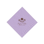 Wedding Beverage Napkins - Lavender