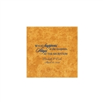 Wedding Beverage Napkins - Mirage Amber