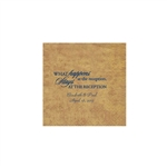 Wedding Beverage Napkins - Mirage Antique