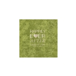 Wedding Beverage Napkins - Mirage Fern