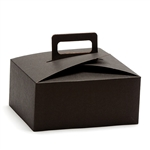 Stackable Cupcake Boxes Black - 100 Boxes/Case