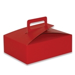Stackable Cupcake Boxes Really Red - 100 Boxes/Case