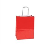 Red Gloss Paper Shopping Bags