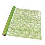 Lime Green Victorian Lace Florist Cello Rolls