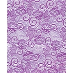Purple Victorian Lace Florist Cello Rolls