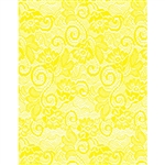 Yellow Victorian Lace Florist Cello Rolls