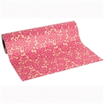 Wholesale Floral Counter Rolls - Montego Raspberry