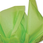 Bright Lime Green Colored Tissue Paper