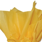 Goldenrod Yellow Colored Tissue Paper