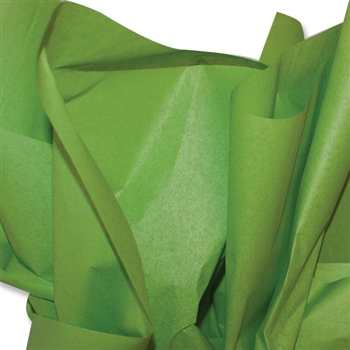Oasis Green Colored Tissue Paper