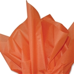 Burnt Sienna Colored Tissue Paper