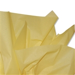 Yellow Colored Tissue Paper