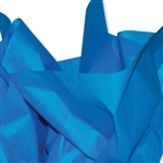 Brilliant Blue Tissue Paper