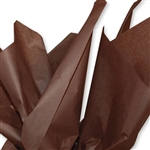 Espresso Brown Colored Tissue Paper