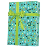 Shamrock Hip to be Square Gift Wrap