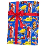 Shamrock Movers & Shakers Toy Trucks Gift Wrap