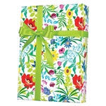 Shamrock Summer Garden Gift Wrap (ultra gloss)