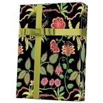 Silk Botanical Fantasy Gift Wrap - (Silk Sheen)