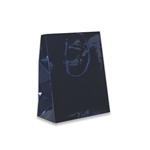 Navy Blue Petite Eurotote Bags-Gloss Laminated