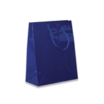 Royal Blue Petite Eurotote Bags-Gloss Laminated