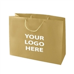 1 Color Hot Stamped Jr. Vogue Euro Matte Laminated Bag