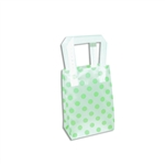 Frosted Petite Reusable Green Dots Bags