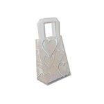 Frosted Petite Reusable Golden Hearts Bags