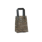 Frosted Petite Reusable Leopard Bags