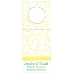 Custom Bottle Tags - Swirls Design