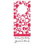 Custom Bottle Tags - Bubbly Design