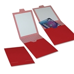 Red Gift Card Bill Folders