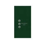 Printed Guest Towel Napkins - Evergreen - Anniversaries, Bar Mitzvah & Parties