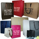 Custom Hot Stamped Manhattan Bags
