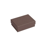 "Brown Kraft 3"" x 2-1/8"" x 1"" Jewelry Boxes"