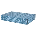 Large Ciel Dots Patterned Shipping Boxes - 48 Pack