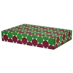 Large Eco Dots Patterned Shipping Boxes - 6 Pack