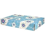 Large Etoiles Patterned Shipping Boxes - 6 Pack