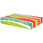 Large Fiesta Patterned Shipping Boxes - 6 Pack