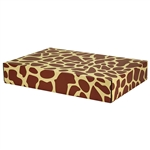 Large Giraffe Patterned Shipping Boxes - 6 Pack