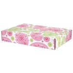 Large Sweet Paisley Patterned Shipping Boxes - 6 Pack