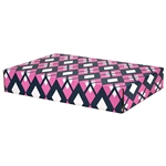 Large Preppy Patterned Shipping Boxes - 6 Pack