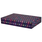 Large Snowflake Icons Patterned Shipping Boxes - 6 Pack