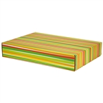 Large Sunstripe Patterned Shipping Boxes - 6 Pack