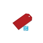 Luggage Style Gift Tags Red
