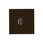 "Personalized Monogram Luncheon Napkins - Chocolate Brown - 6-3/4"" x 6-3/4"" - 50 or 100/pack"